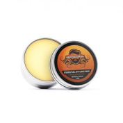 Essential Beards - Sandalwood Strong Moustache Wax 15ml / 15g Tin Made In Uk