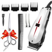 Rantizon Mains Hair Clipper Set Professional Hair Cutting Kit For Men Blades Set
