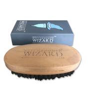 Well Groomed Wizard Beard Brush For Men, Boar Bristle Beard Brush - 100%