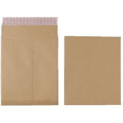 Premium Brown Gusset V Bottom 305 X 254 X 25mm Peel And Seal 140gsm Plain X125