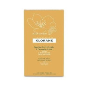 Klorane 6 Double Cold Wax Strips With Sweet Almond