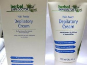 Skin Doctor Herbal Hair Away Depilatory Cream 150ml Removes Thickness Unwanted