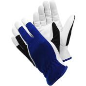Ejendals 12-8 Size 20cm tegera 30cm Leather Glove - Blue/white/bla