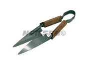 """Ct3470 12"""" / 300mm Traditional Gardeners Grass Shears Topiary Tool Wooden Handle"""