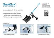 Snokick ® Snow Shovel-help
