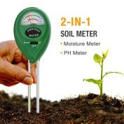 Mooncity 2-in-1 Soil Moisture Sensor Metre And Ph Acidity Tester, Plant