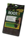 Root!t Rooting Sponges Propagation Growing From Seed 24 Cell Filled Tray