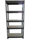 5 Tier Heavy Steel Racking Duty Boltless Storage Shelves Garage Shelving New