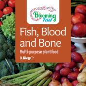 Blooming Fast Fish Blood & Bone Organic Fertiliser 1.5kg Resealable Tub