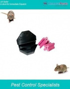 Professional Mouse Box Station With 2 Poison Bait Blocks, Quick Take And Kill