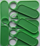 Clip On Plant Label Tags 75mm
