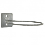 Small Grey Wall Mounted / Wall Hang Ring Holder For Flower Pot By Ib Laursen ...