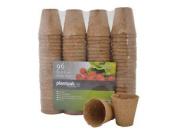 Plantpak 70203005 6cm X 96 Pf Fibre Pots Round