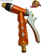 Nlg® Garden Hose Nozzle, High Pressure, Heavy Duty Metal, Hand Sprayer....