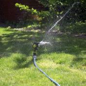 Quantum Garden Plastic Impulse Garden Sprinkler On Spike