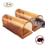 Vensmile Humane Mouse Trap No Kill Live Mice Catch Cage