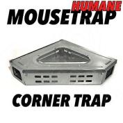 Humane Corner Unit Mouse Trap Metal Mice Pest Catcher - Multicatch Reusable