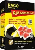 Difenacoum Rat & Mouse Killer Paste Bait Sachets 24 X 10g