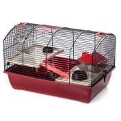 B#beeztees Rodent Mouse Hamster Rat Cage Enclosure 50x33x33cm Victor 2 Plus 2668