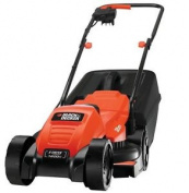 Black & Decker Emax32-gb Rotary Lawn Mower, Orange, 31x35.8x63.6 Cm