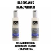 2x150ml Dgj Organics Hangover Hair Intensive Conditioning Repair Treatment 300ml