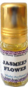 Jasmin Jasmeen Flower Attar Oil For Women Alcohol Free Roll Ball Glass Bottle