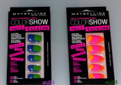 Maybelline Colour Show Nail Falsies Stick On False Nails New