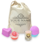 Personalised Treat And Pamper Mini Spa In A Bag Collection 1