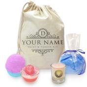 Personalised Treat And Pamper Mini Spa In A Bag Collection 3