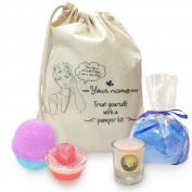 Treat And Pamper Personalised Mini Spa In A Bag Collection 3