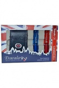 Travalo London Edition Set Contains 2 X Genie-s Refills And Pouch