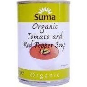 Suma Org Tom/red Pepper Soup 400 G