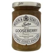 Wilkin & Sons Ltd Tiptree Green Gooseberry Extra Jam 340g