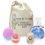 Personalised Pamper Mini Spa In A Bag Collection 3