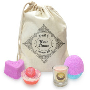 Personalised Mothers Treat And Pamper Mini Spa In A Bag Collection 1