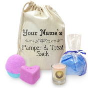 Personalised Pamper And Treat Sack Mini Spa In A Bag Collection 4