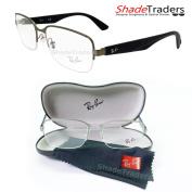 Ray Ban Semi Rimless Unisex Optical Glasses Frame Gunmetal Blue Rayban 6311 2620