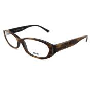 Fendi Frames Glasses 807 236 Havana Tortoiseshell & Black