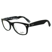 Ray-ban Glasses Frames 5184 5405 Black On Texture Camouflage 52mm