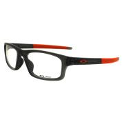 Oakley Glasses Frames Crosslink Pitch 8037-06 Satin Grey Smoke