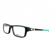 Oakley Glasses Frames Chamfer 8039 Ox8039-09 Black & Teal