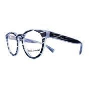 Dolce And Gabbana Glasses Frames 3251 3051 Striped Azure Men 49mm