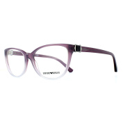 Emporio Armani Glasses Frames 3077 5459 Pink To Crystal Womens 52mm