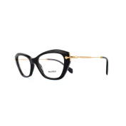 Miu Miu Glasses Frames 04lv 1ab1o1 Black Womens 52mm