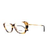 Miu Miu Glasses Frames 04ov Han1o1 Sand Yellow Havana Womens 52mm
