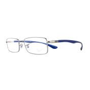 Ray-ban Glasses Frames 6286 Liteforce 2502 Gunmetal Blue Men 52mm