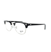 Ray-ban Glasses Frames 5154 Clubmaster 2000 Shiny Black 51mm