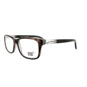 Mont Blanc Glasses Frames 0383 056 Dark Havana Light Ruthenium