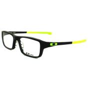 Oakley Glasses Frames Chamfer 8039-06 Matt Black / Retina Burn