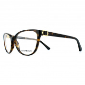 Emporio Armani Glasses Frames 3077 5026 Havana Womens 52mm